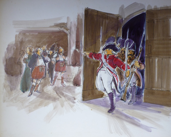 Jackanory, Soldiers at the door