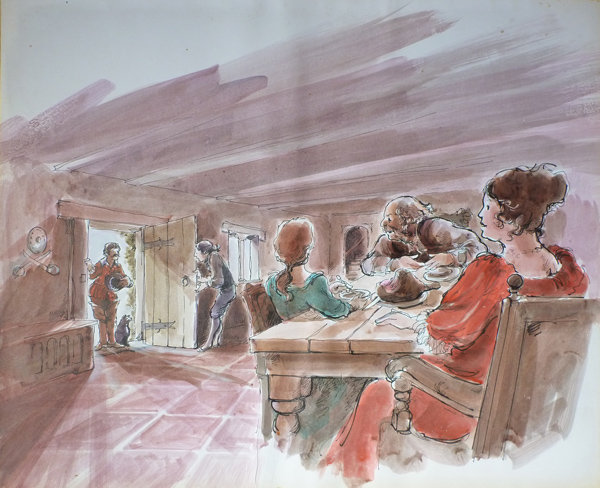 Jackanory, Tavern scene