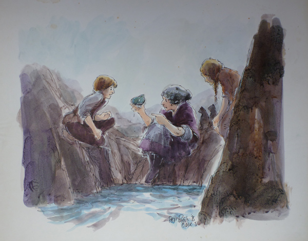 Jackanory, Sitting on the rocks