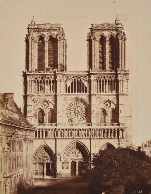 Eduard Baldus (French, 1813-1889) Cathedral de Notre Dame, Circa 1857