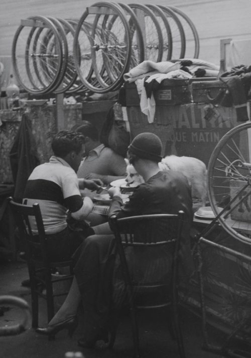 Brassai (Gyula Halasz) (Hungarian-French, 1899-1984) Untitled (Eating at the Velodrome), circa 1932