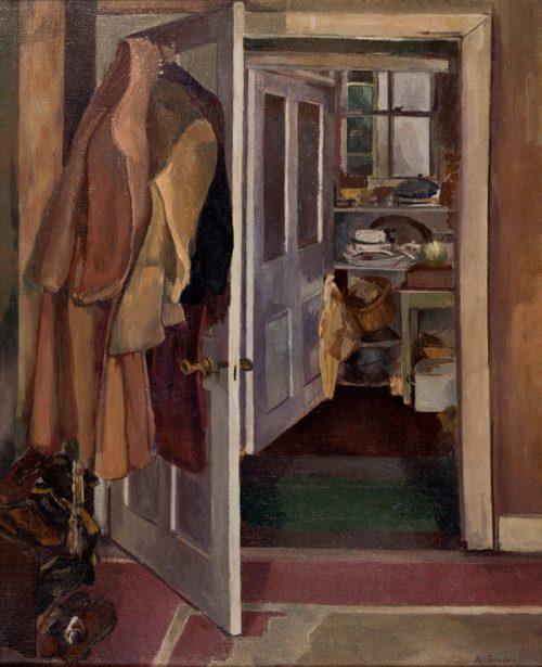 Pamela Spencer (1924-2012) Kitchen Interior