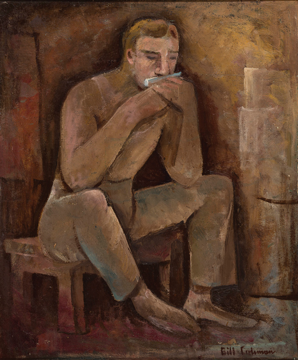 Bill Coleman (1922-1992), Man with Harmonica