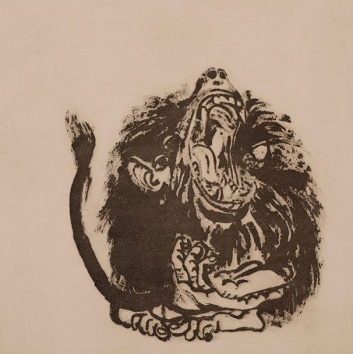 Brett Whiteley, Young Baboon, 1977