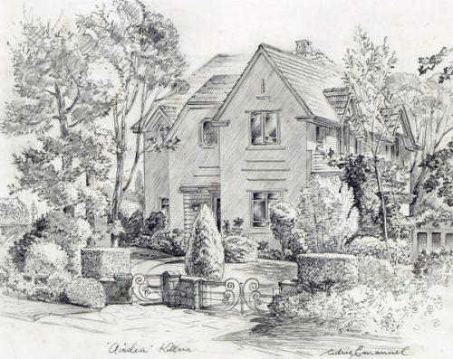 Cedric Emanuel (1906-1995) Ainslea House Killara