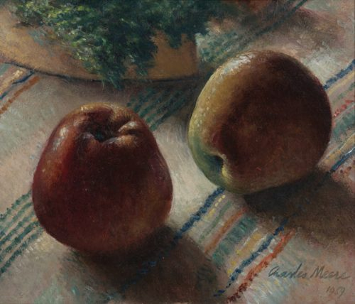 Charles Meere (1890-1961) Still Life with Apples 1959