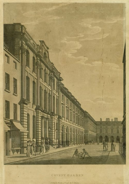 Covent Garden, Engraving 1796
