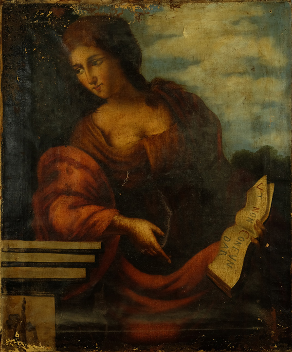 Cumaean Sibyl, possibly a 17th Century study