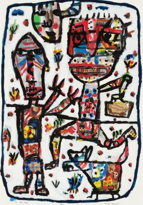 David Larwell (1956-2011), On the Hop 1993