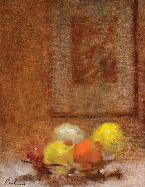 Hayward Veal (1913-1968), Still Life, Oil on Canvas