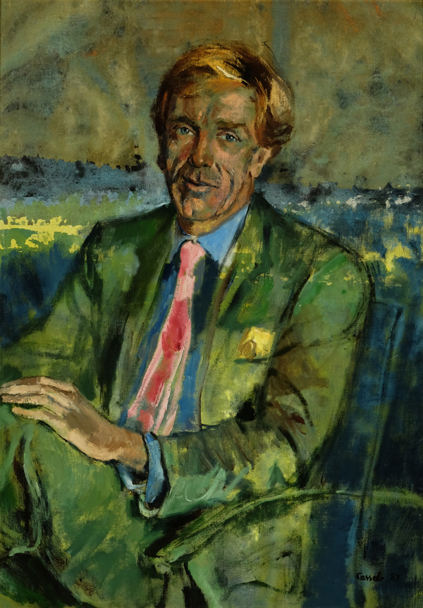 Judy Cassab (Born 19200 Portrait-of-Edmund-Capon