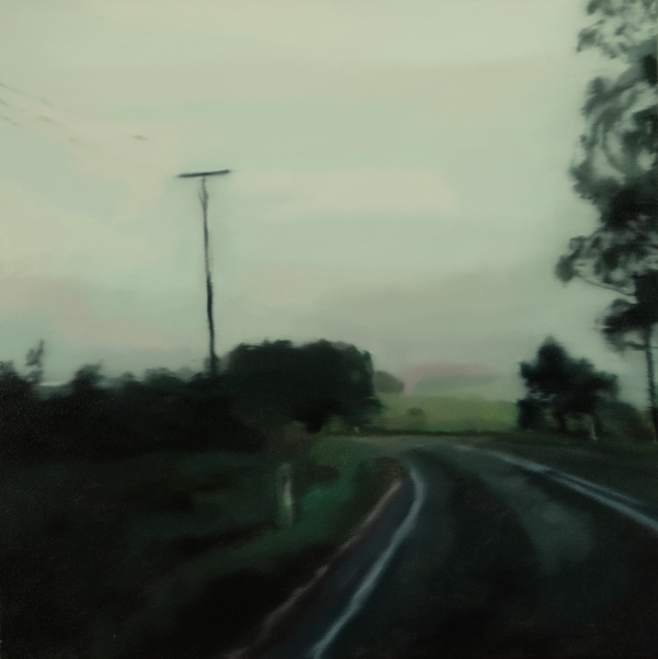 Paul Gundry Tasman Highway 2013 Oil on canvas 61x61cm