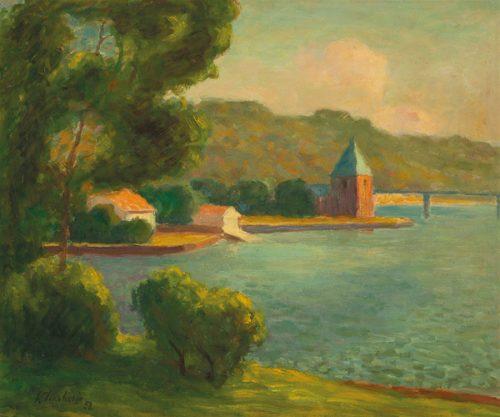 Roland Wakelin, (Untitled) On Lane Cove River 1952