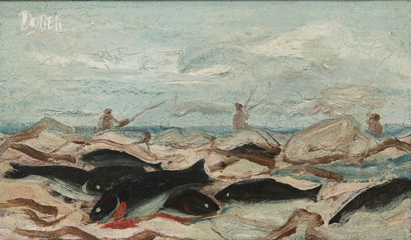 William Dobell (1865-1915) Fishermen