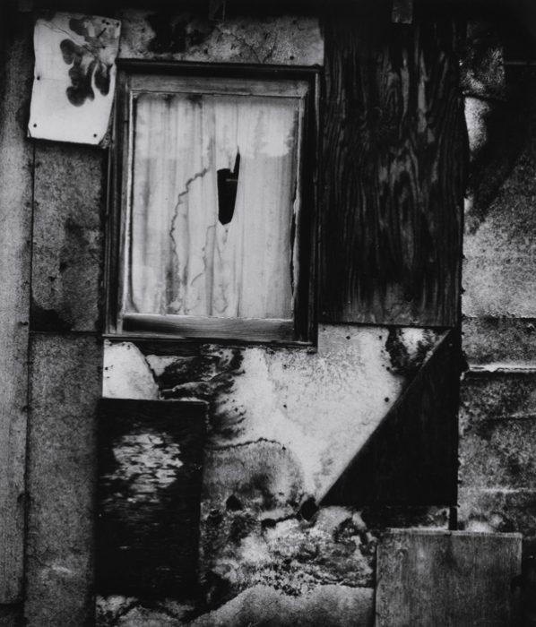 Brett-Weston-(American-1911-1993)-Cabin-Facade-1973