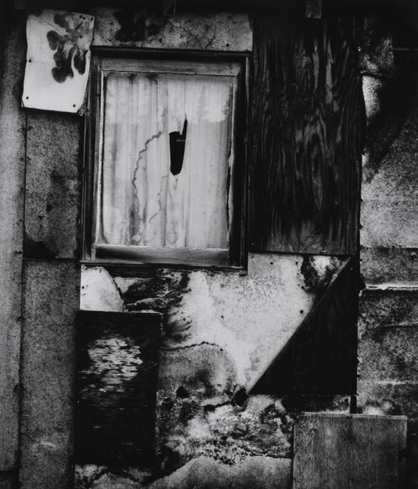 Brett Weston (American, 1911-1993) Cabin Facade, 1973