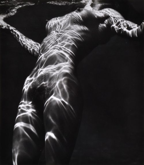 Brett Weston (American, 1911-1993) Nude Under Water 1979