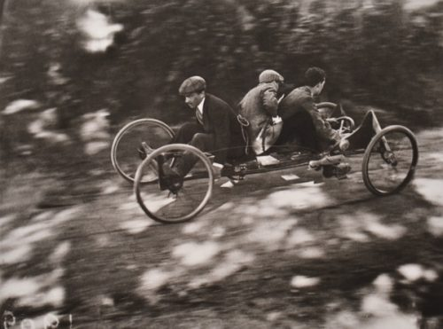 Jacques-Henri Lartigue (French, 1894-1986) Bob a 4 rous France Circa 1910