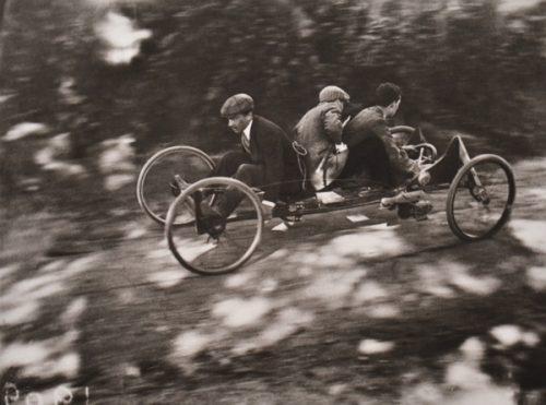 Jacques-Henri Lartigue (French, 1894-1986) Bob a 4 rous France Circa 1910