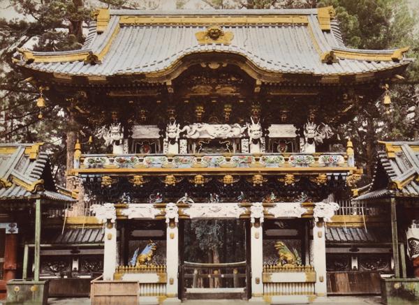 Kusakabe Kimbei (Japanese, 1841-1934) Great Gate Nikko Japan, 1870
