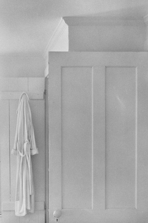 Lilo Raymond (German American, 1922-2009) Door and the Robe 1981