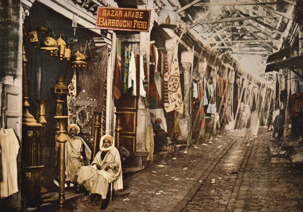 Photographer-Unkown-Egyptian-Market-Circa-1910