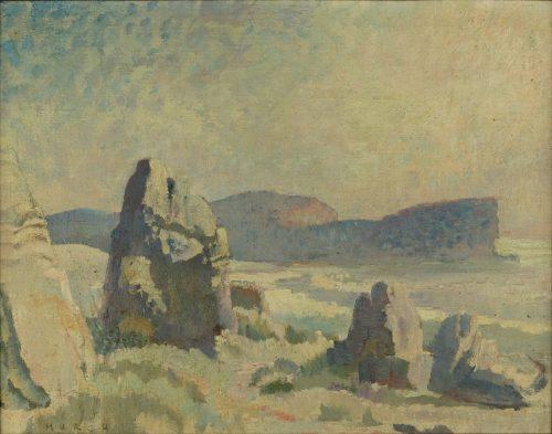 Arthur Murch oil on canvas