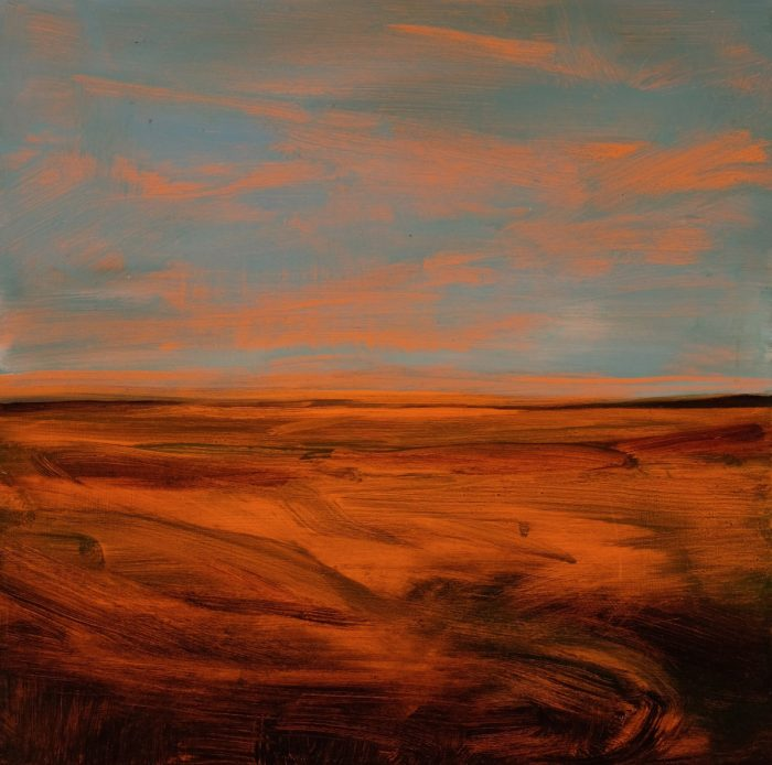 Burke, Jemma Orange, Glowing.39.5×40