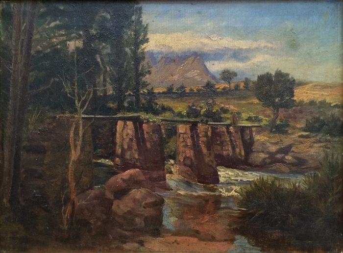 Hans Heysen (1877-1968), Untitled landscape