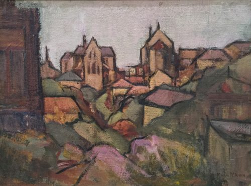 Marie McNiven, Country Townscape 2