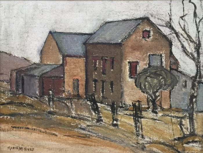 Marie McNiven, Country Townscape 1