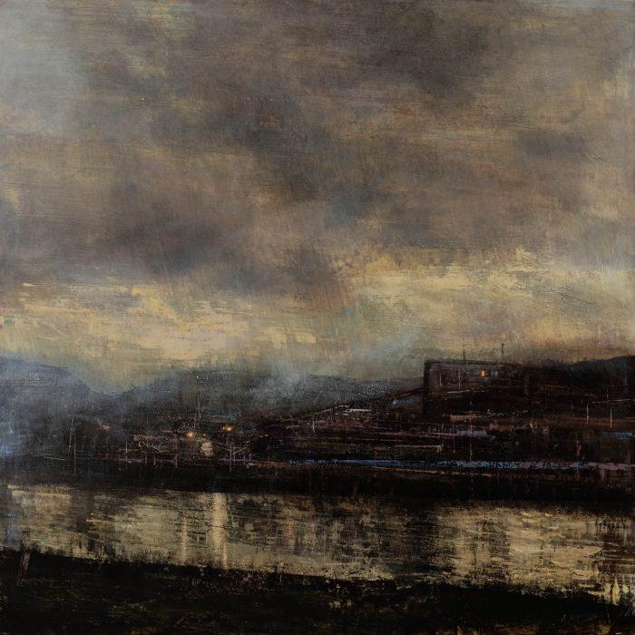 Quincoces,Alejandro, Old black factory, 121×121