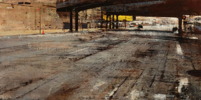 Quincoces,Alejandro, Road and bridge, 100×50