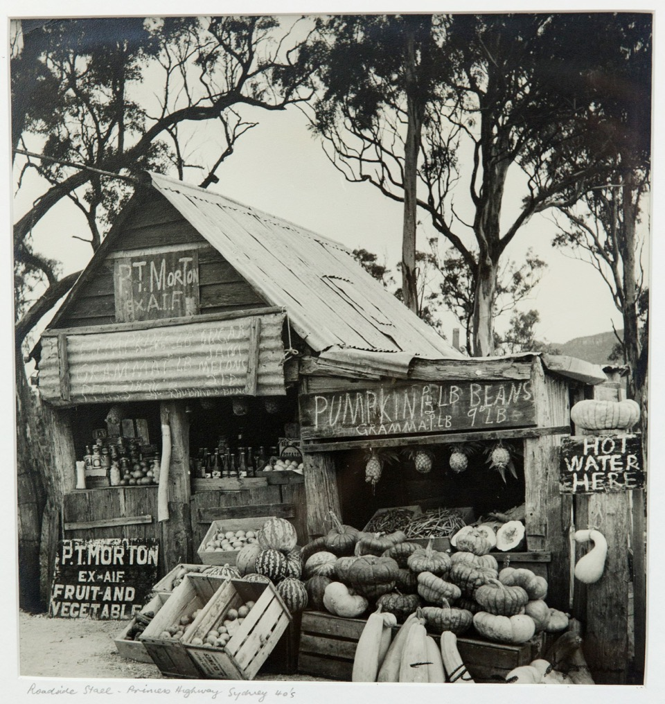 Max Dupain (1911-1992), Roadside Stall Princes Highway