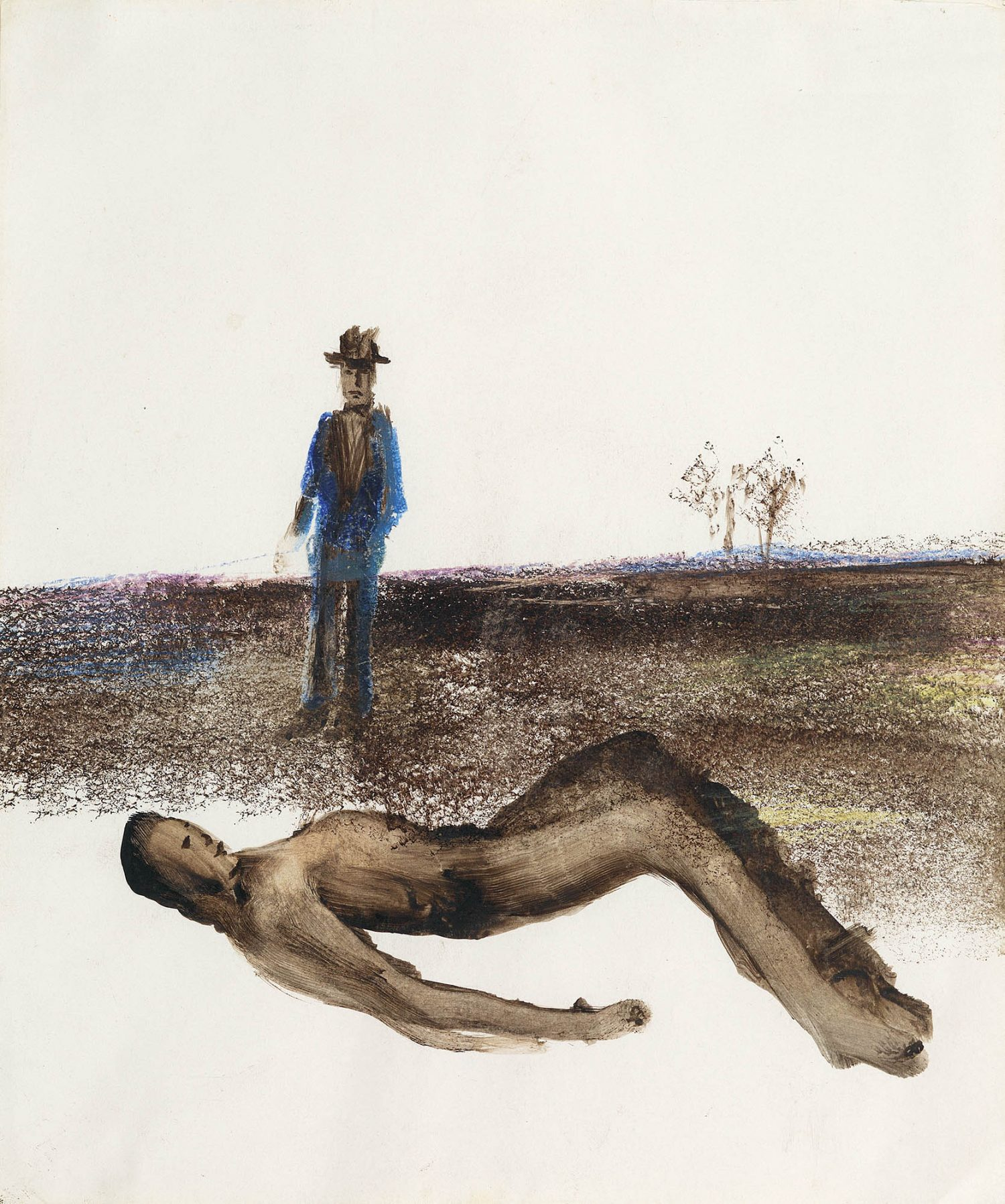 Sidney Nolan (1917-1992), Woman in a Landscape