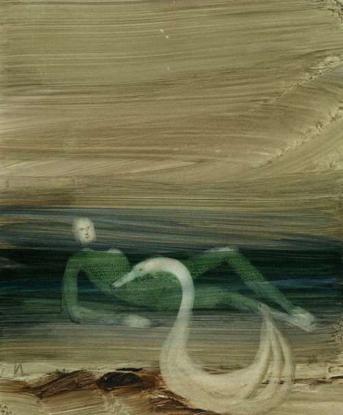 Sidney Nolan (1917-1992), Leda and Swan
