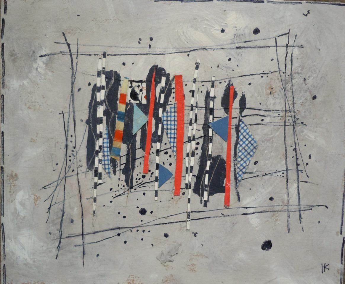 14 T219 Sin Titulo 2012 acrilico con recortes de papel sobre carton 30x35cm