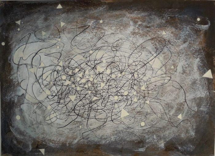 5 R081 Sin titulo 2015 acrilico sobre tela 110x 140 cm