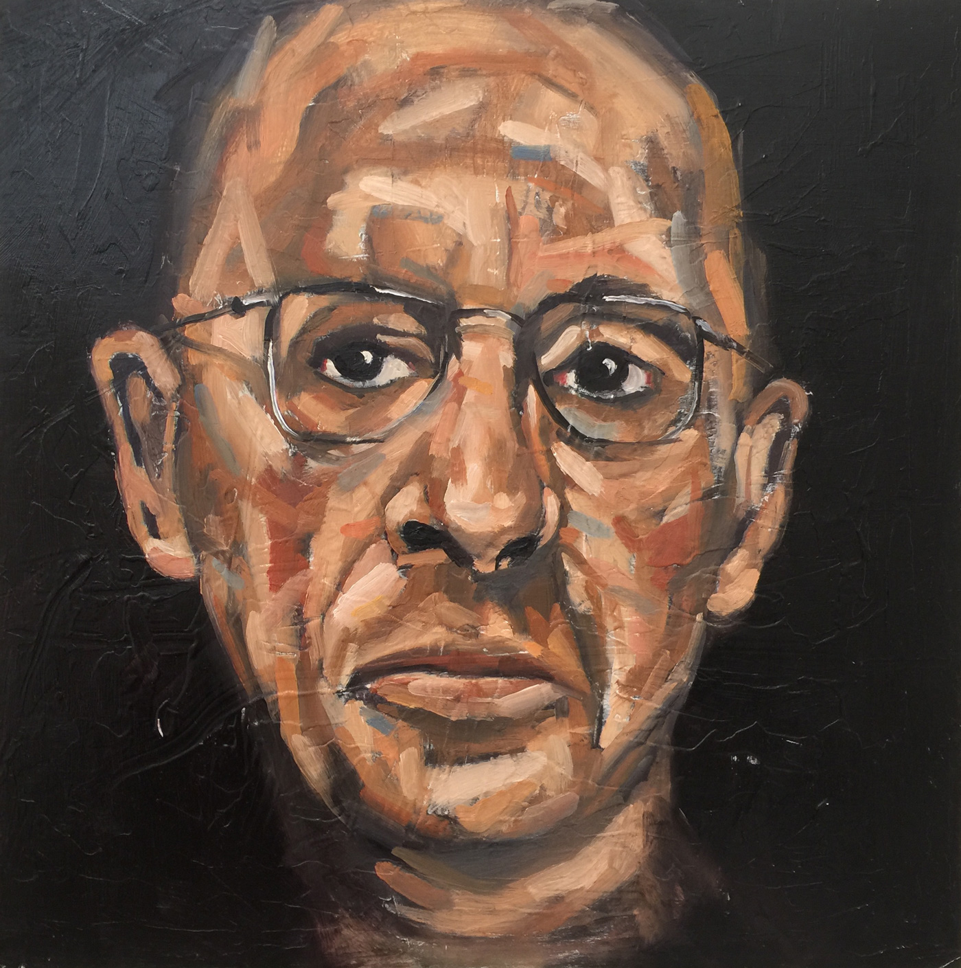 Christopher-Wright,-Portrait-of-Igor-Stravinsky