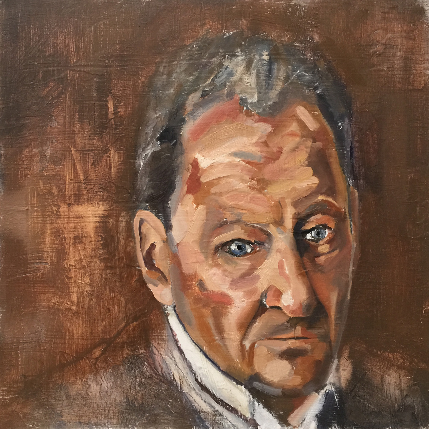 Christopher-Wright,-Portrait-of-Lucian-Freud