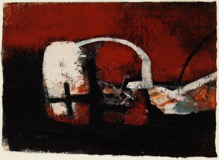 Robert Henderson Grieve, Black, white and ochre theme