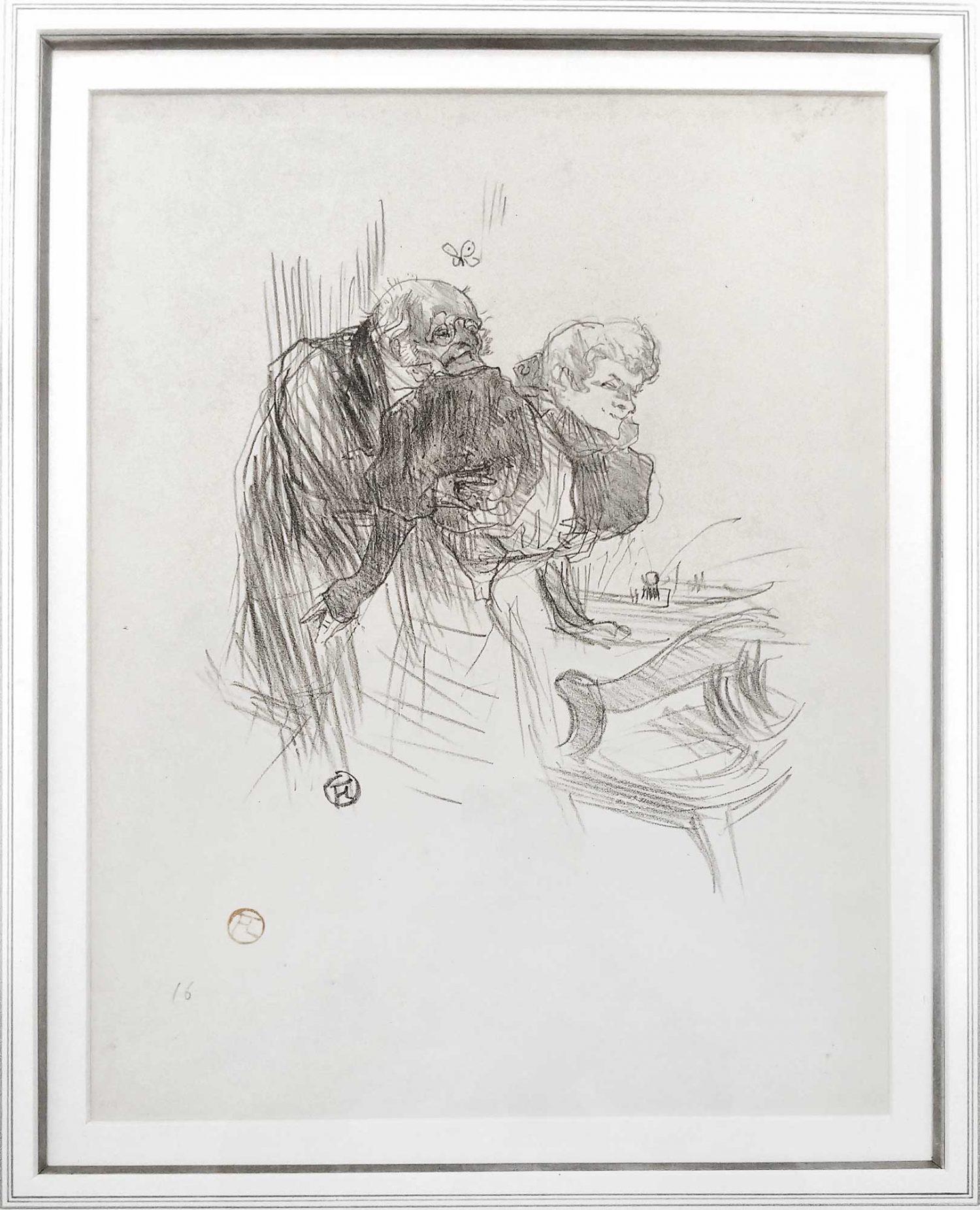 Henri De Toulouse-Lautrec Les Vieux Papillons