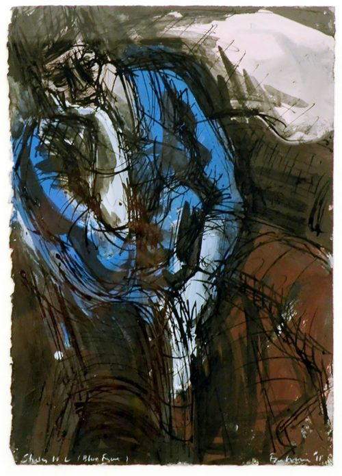 David FAIRBAIRN, Study W L (Blue Figure)