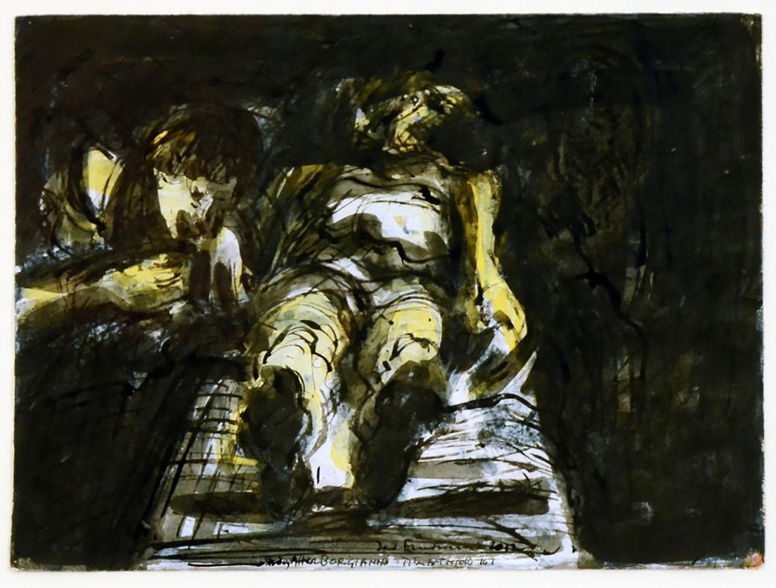 David FAIRBAIRN, Study from Borgianni