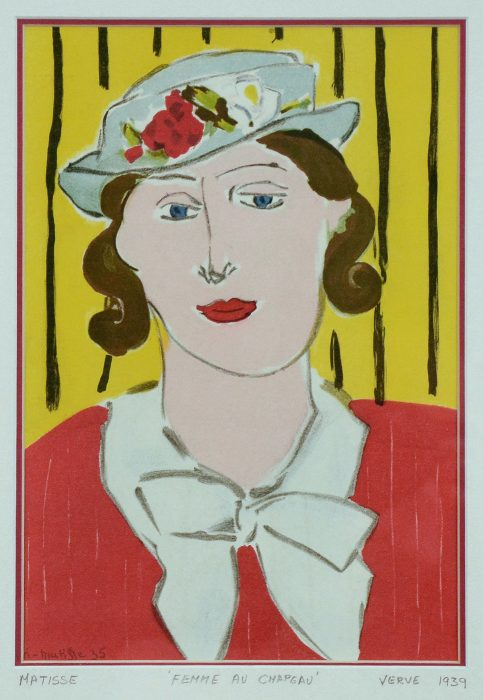 Henri MATISSE, Femme au Chapeau