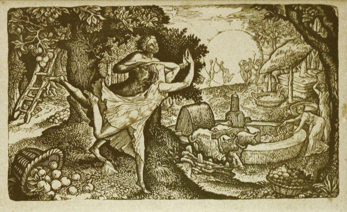 CALVERT, Edward, The Cyder Feast