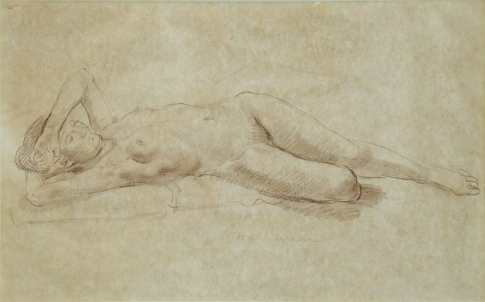 NEYSEN Reclining Nude