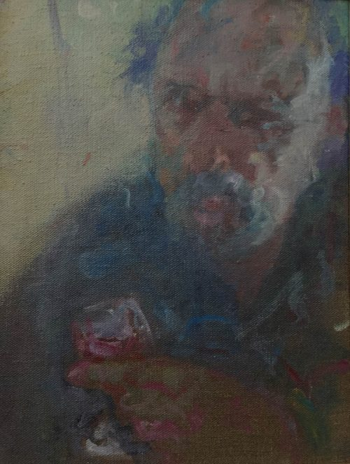 David Naseby, Self Portrait