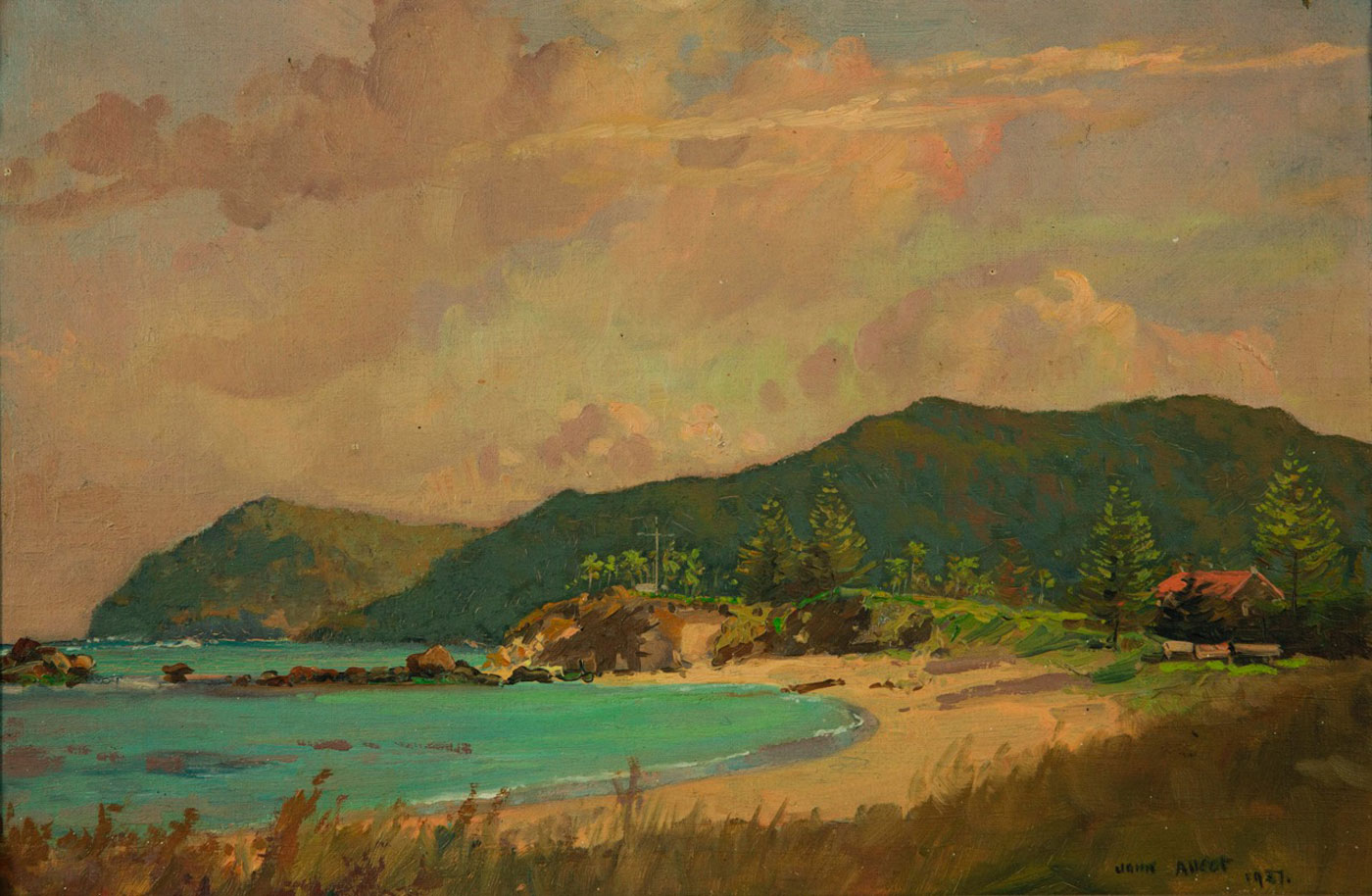 John Allcot, Ned Beach Lord Howe Island 1937