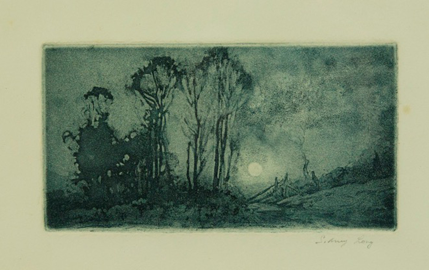 Sydney Long, Moonrise